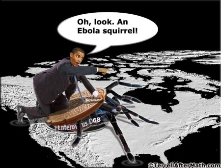 Obama Ebola Squirrel