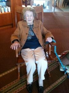 Aunt June at Heartwood 1 20140412