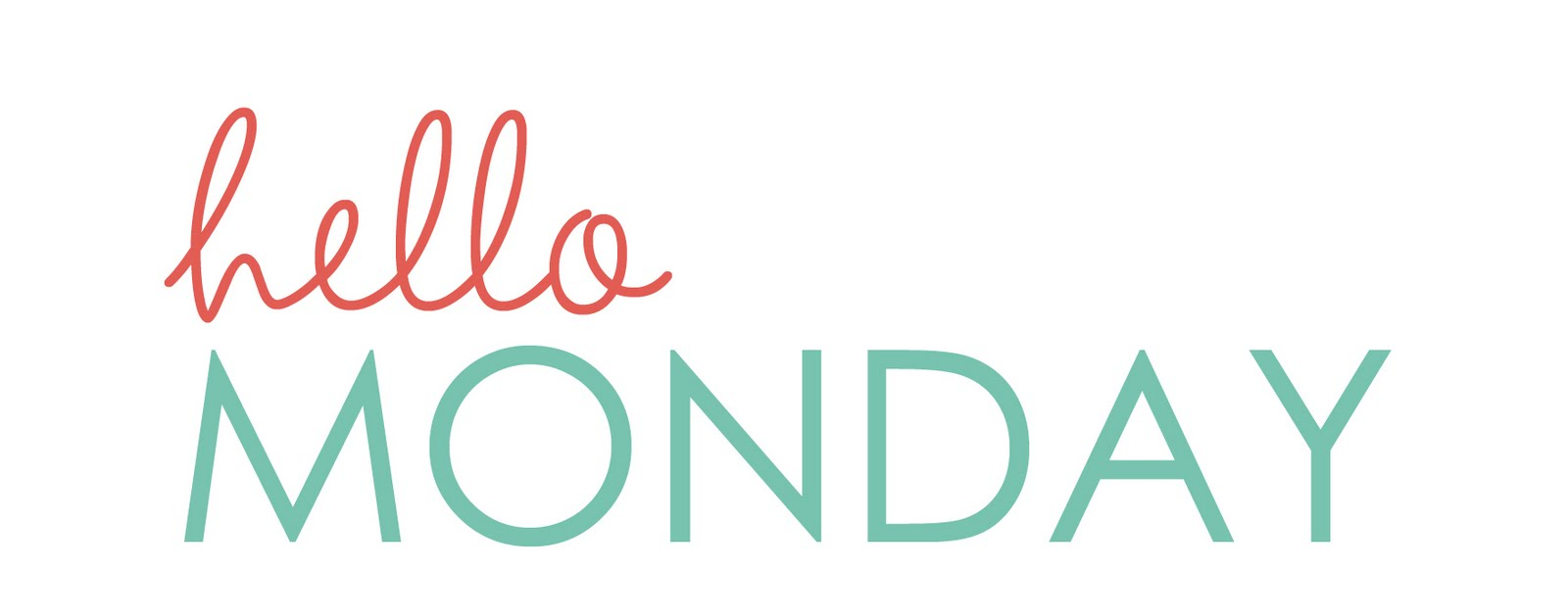 Happy Monday, a reminder & a giveaway - One Happy Mama
